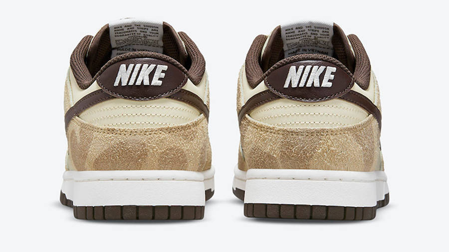 Nike Dunk Low Animal Pack 2021 Beach Baroque Brown DH7913-200 Back