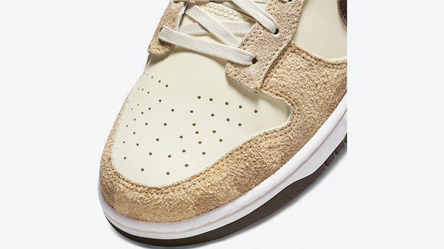 Nike Dunk Low Animal Pack 2021 Beach Baroque Brown DH7913-200 Detail Front