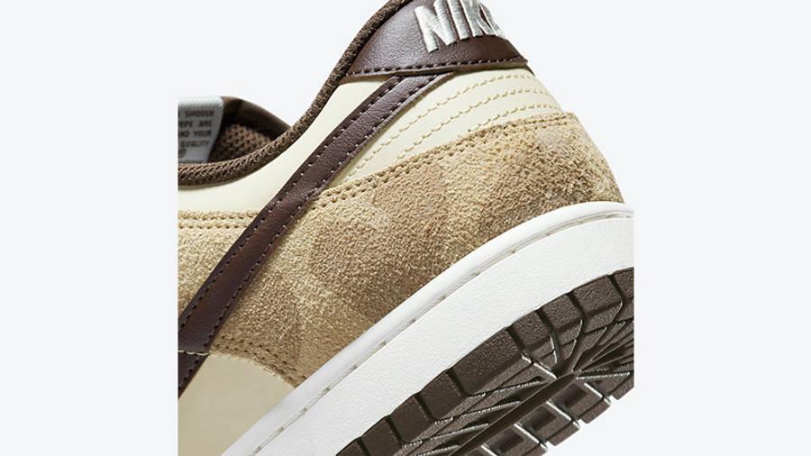 Nike Dunk Low Animal Pack 2021 Beach Baroque Brown DH7913-200 Detail