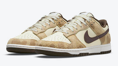 Nike Dunk Low Animal Pack 2021 Beach Baroque Brown DH7913-200 Side