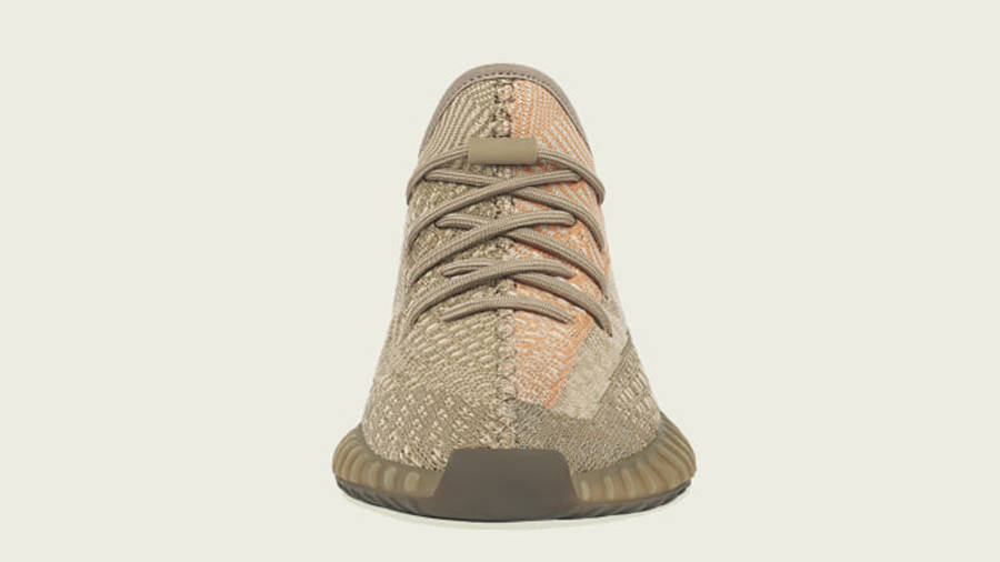 Yeezy Boost 350 V2 Sand Taupe Front