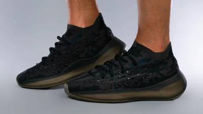 Yeezy Boost 380 Onyx On Foot