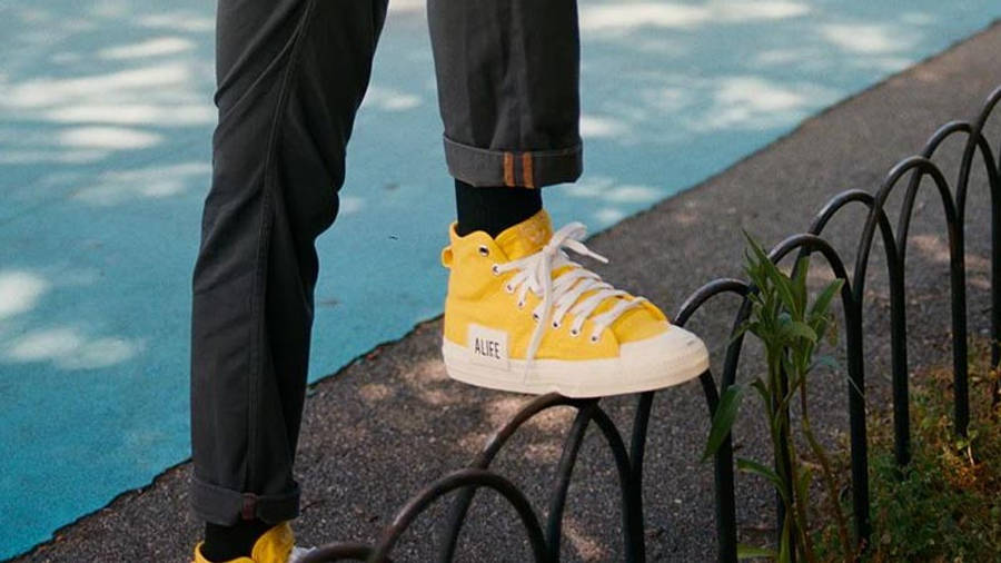 Alife x adidas Nizza Hi Yellow | Where To Buy | FX2619 | The Sole ...