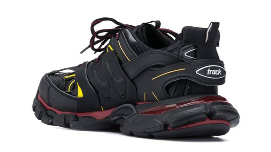 Balenciaga Track Black Red Yellow Back