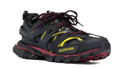 Balenciaga Track Black Red Yellow Front