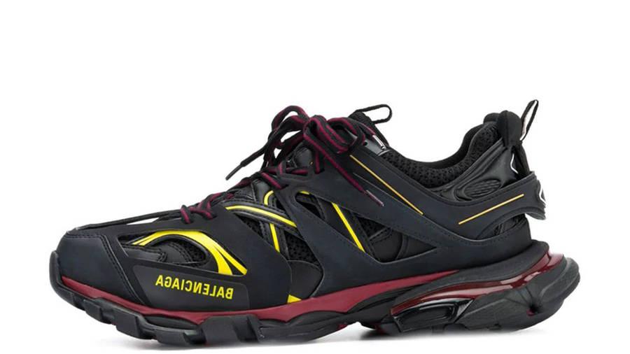 Balenciaga Track Black Red Yellow