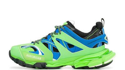 Balenciaga Track Green Blue