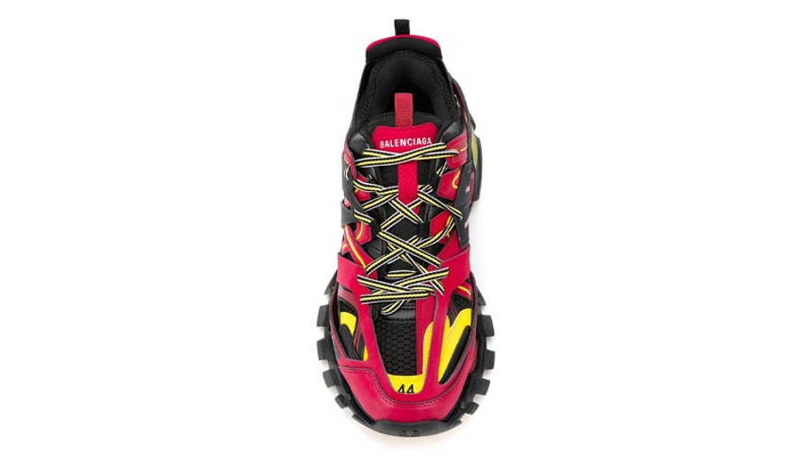 Balenciaga Track Red Black Middle