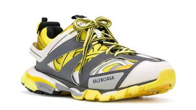 Balenciaga Track Yellow Grey Front