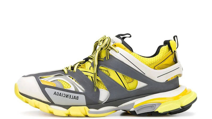 Balenciaga Track Yellow Grey