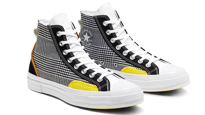 Converse Chuck 70 Hacked Fashion Hi Black Yellow Where To