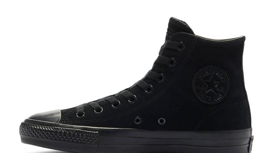 Converse Cons CTAS Pro Ox High Top Triple Black 161578C