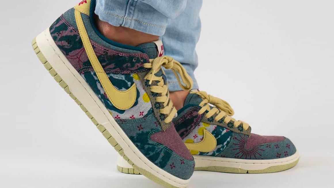 A Closer Look at the Nike Dunk Low SP