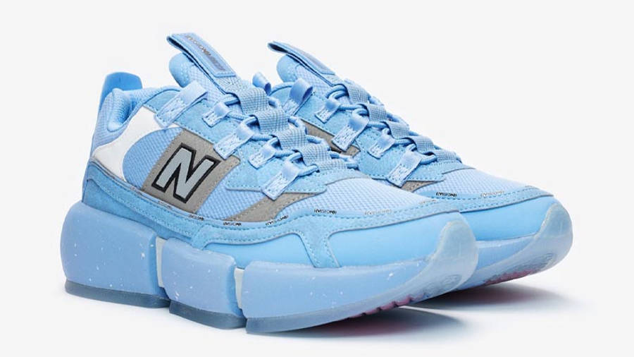 Jaden Smith x New Balance Vision Racer Wavy Baby Blue Front