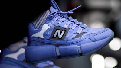 Jaden Smith x New Balance Vision Racer Wavy Baby Blue On Foot