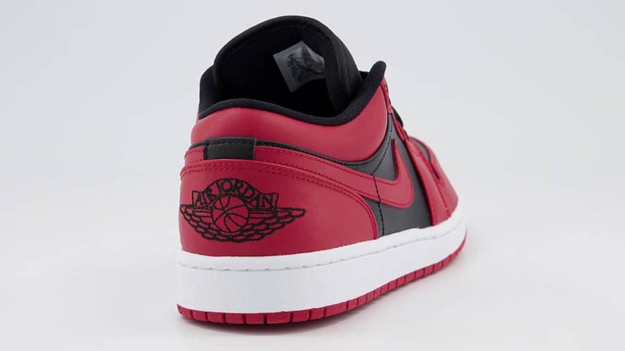 Jordan 1 Low Gym Red Black Back
