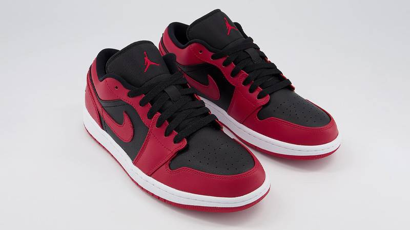 Jordan 1 Low Reverse Bred Where To Buy 553558 606 The Sole