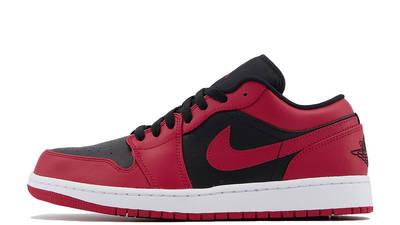 Jordan 1 Low Gym Red Black