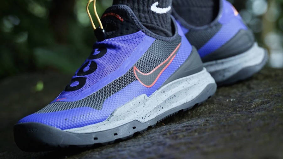 Nike ACG Air Zoom AO Fusion Violet On Foot Front