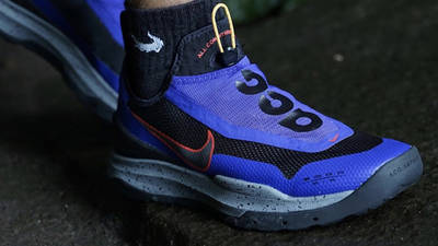 Nike ACG Air Zoom AO Fusion Violet On Foot