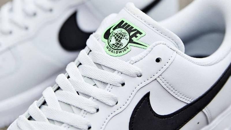 nike air force green logo
