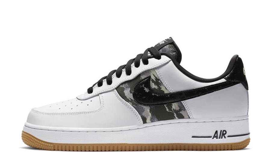 a nombre de Alternativa hecho  Nike Air Force 1 Low White Camo Gum | Where To Buy | CZ7891-100 | The Sole  Supplier