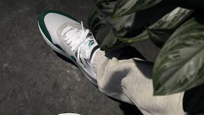 Nike Air Max 1 Anniversary Hunter Green On Foot Top