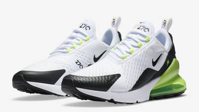 Nike Air Max 270 White Black Volt Front