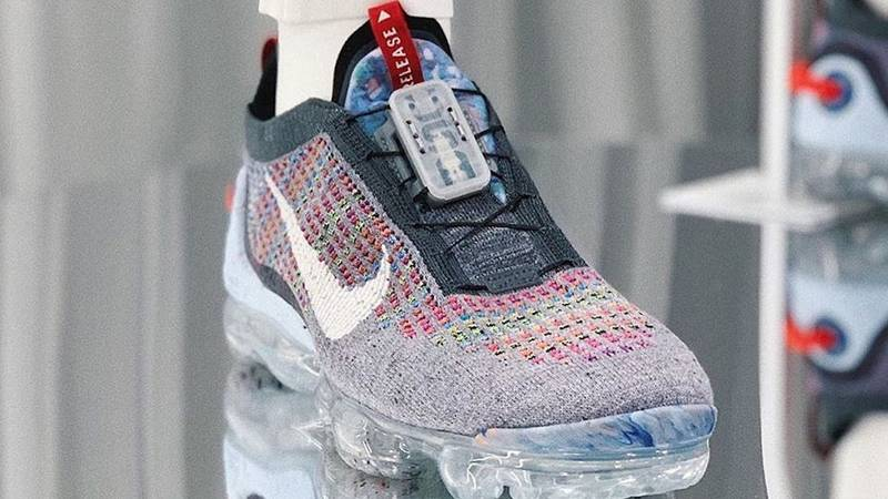 Nike Air VaporMax Flyknit Utility Shoe Blue Nike in 2020 Shoes