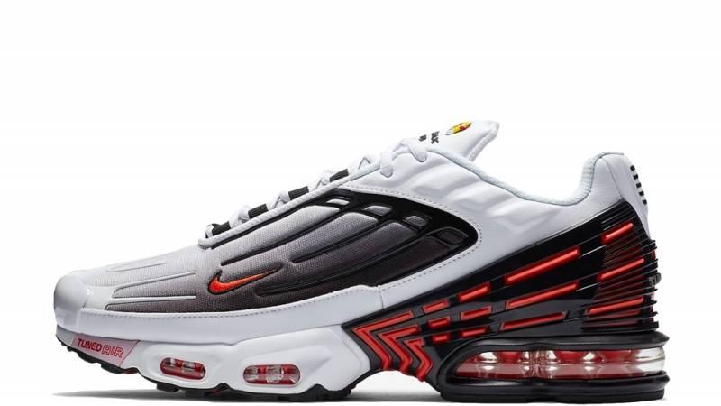 Nike Tn Air Max Plus 3 White Black Red Where To Buy Ck6715 101