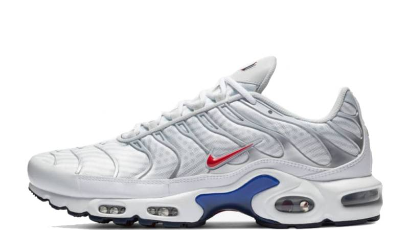 Nike Tn Air Max Plus White Navy Red Where To Buy Cw7575 100