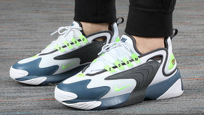 Nike Zoom 2K White Thunderstorm AO0269-108 on foot front