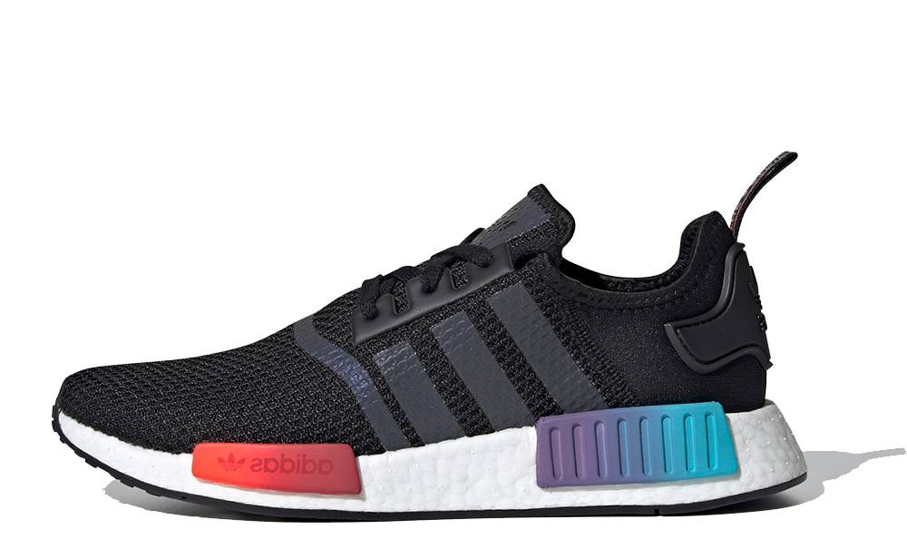 Adidas Nmd R1 Gradient Black Multi Where To Buy Fw4365 The