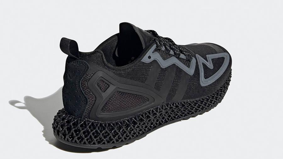 adidas ZX 2K 4D Triple Core Black FZ3561 back