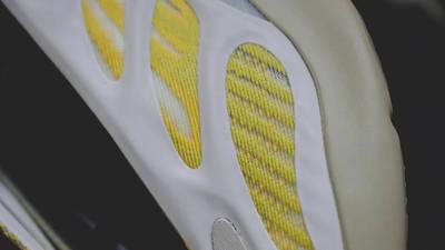 Yeezy 700 V3 Safflower Closeup