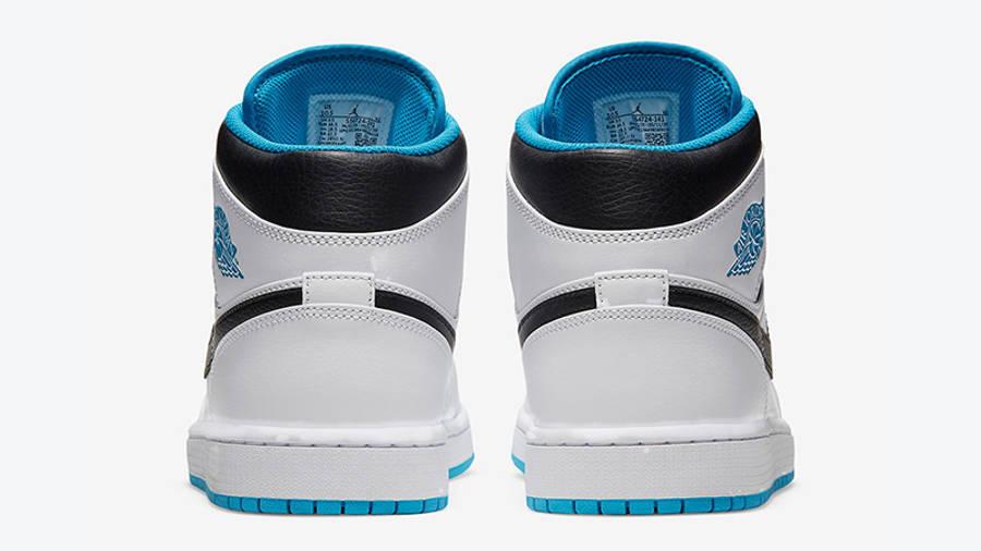 Jordan 1 Mid Laser Blue 554724-141 back