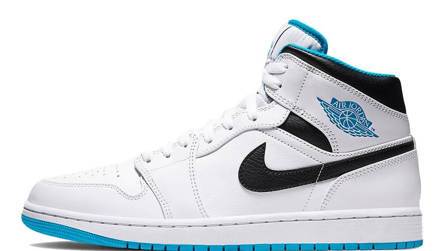 Jordan 1 Mid Laser Blue 554724-141