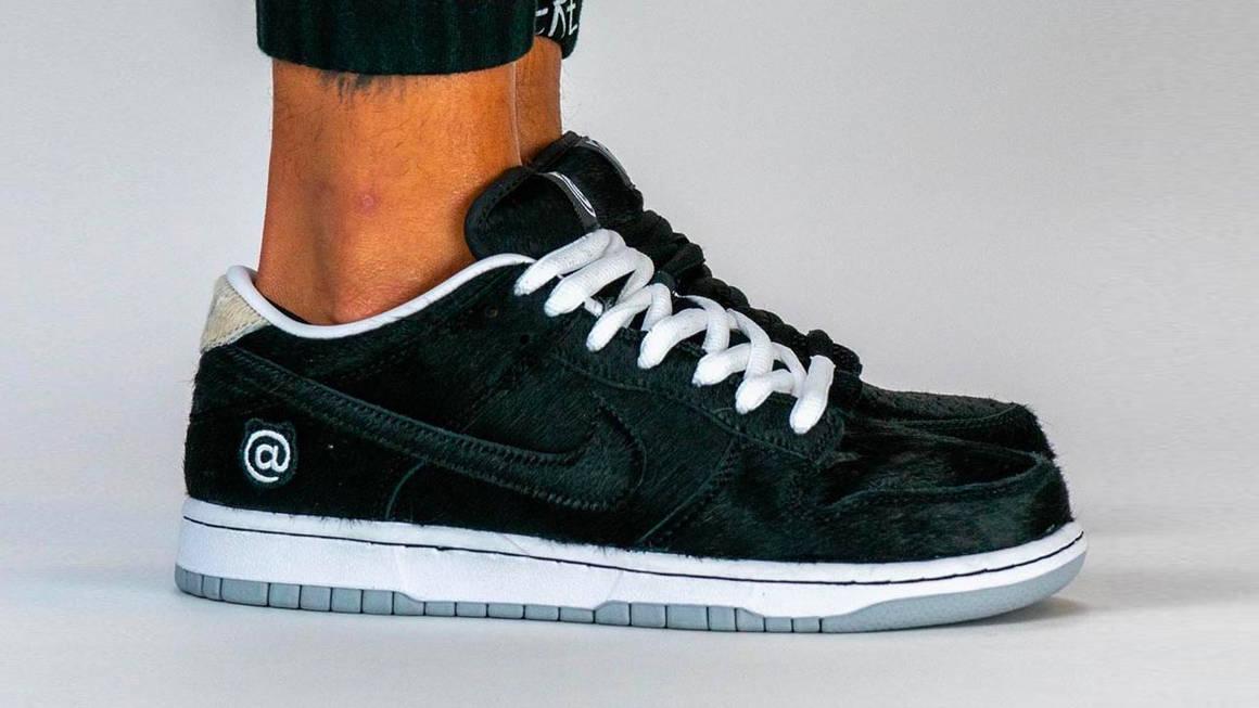 Medicom Toy x Nike SB Dunk Low Black