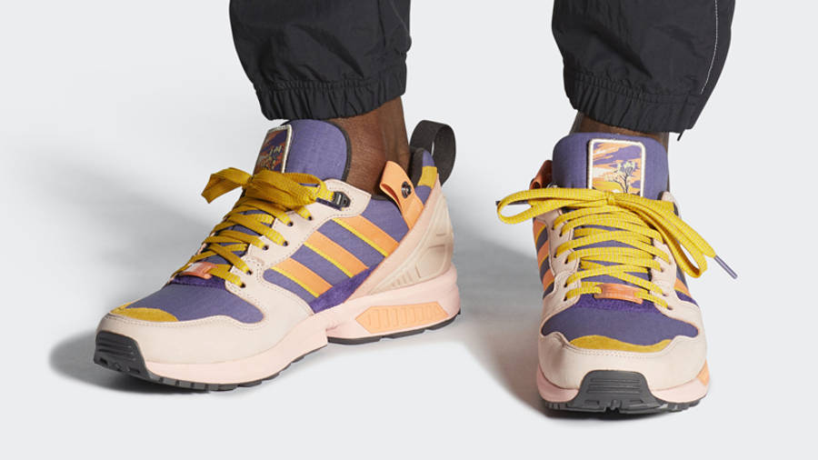 National Park Foundation x adidas ZX 5000 Joshua Tree Vapour Pink On Foot