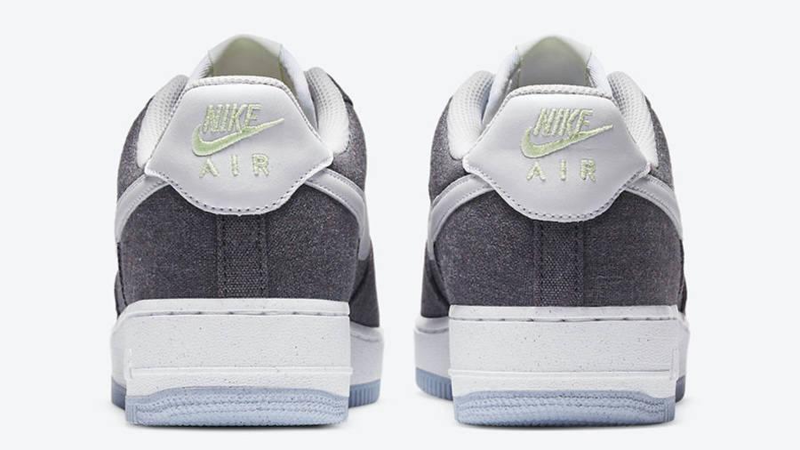 Nike Air Force 1 07 Iron Grey Back