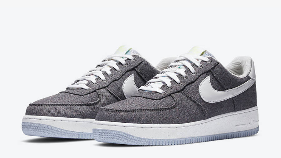 Nike Air Force 1 07 Iron Grey Front