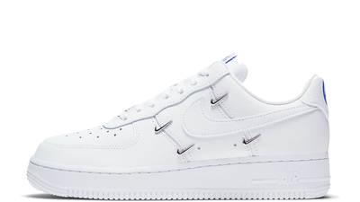 Nike Air Force 1 07 LX Chrome Swooshes White