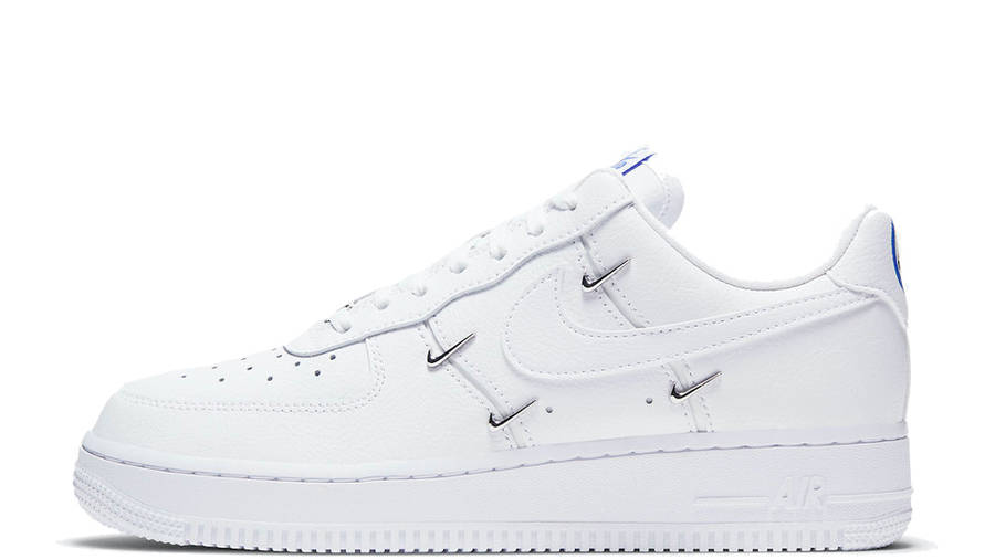 Converger alimentar escarabajo  Nike Air Force 1 07 LX Chrome Swooshes White | Where To Buy | CT1990-100 |  The Sole Supplier