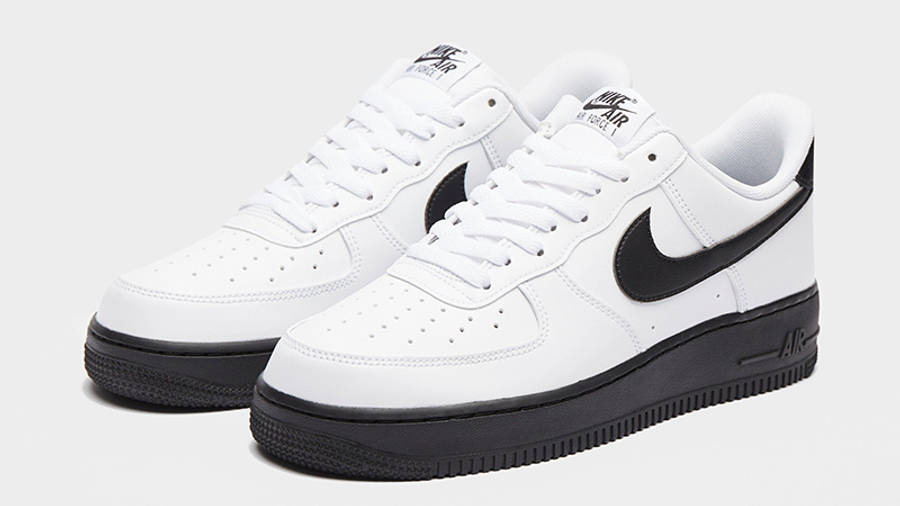 Nike Air Force 1 07 White Black | Where To Buy | CK7663-101 | The ...