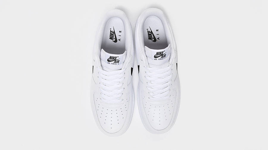 Nike Air Force 1 Low Mesh White Black   Where To Buy   undefined ...