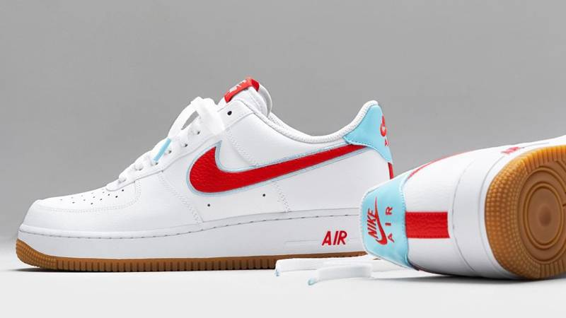 Glosario No hagas al menos  Nike Air Force 1 Low White Chile Red Ice | Where To Buy | DA4660-101 | The  Sole Supplier