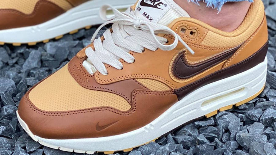 Nike Air Max 1 SNKRS Day Brown On Foot Top