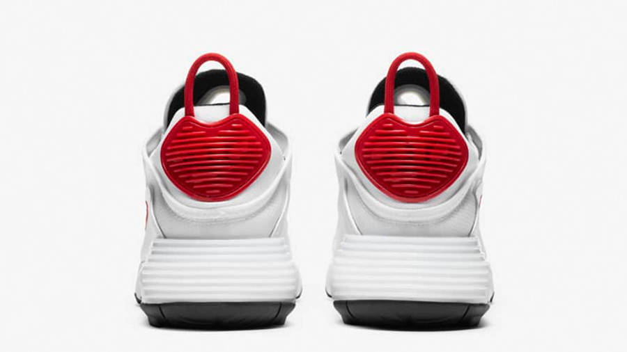 Nike Air Max 2090 White Red Black DA4304-100 back