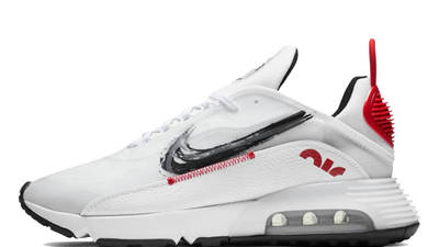 Nike Air Max 2090 White Red Black DA4304-100