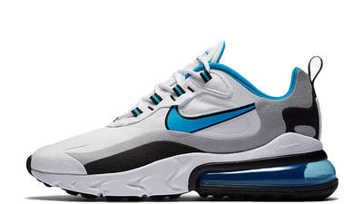 Nike Air Max 270 React White Blue Grey